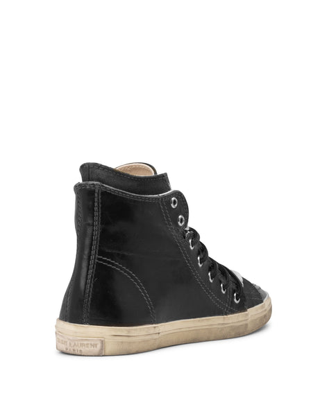 Rivington Double High-Top Sneaker - Black