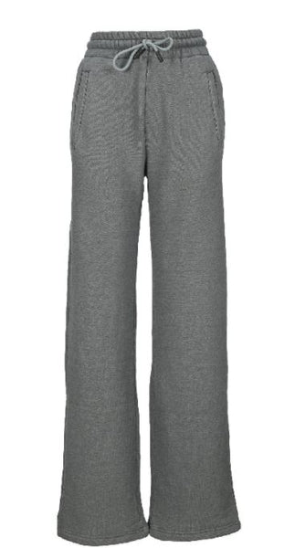 Diag Track Pants - Grey