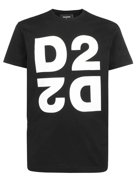 Men's Mirrored D2 Print T-Shirt