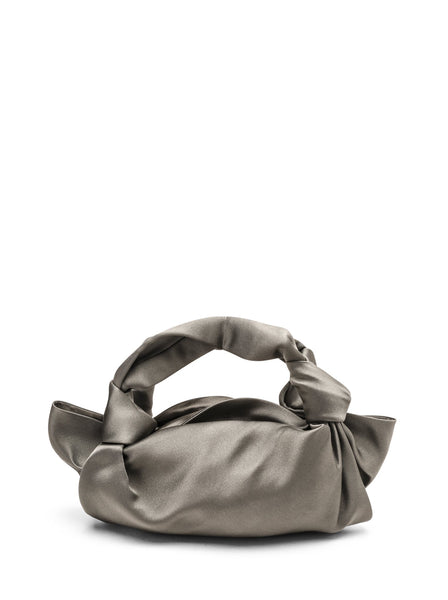The Row Satin Ascot Hobo Bag
