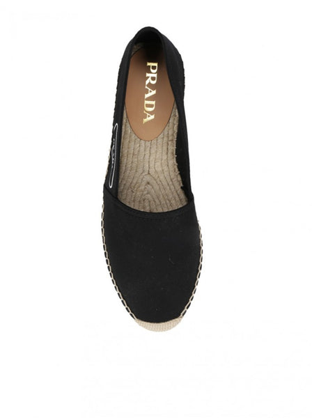 Men's Gabardine Fabric Espadrilles