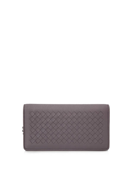 Intrecciato Nappa Continental Wallet On A Chain