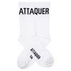 Block Type Socks White main