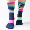 Monkey Sox: CLASSIC X2 SPORTS SOX: NAVY MULTI