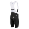 Attaquer | All Day Bib Short | Black/Reflective White Logo