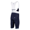 Attaquer | All Day Bib Short | Navy/Reflective Tonal Logo