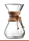 Chemex 8 Cup Coffee Maker with Wood Collar