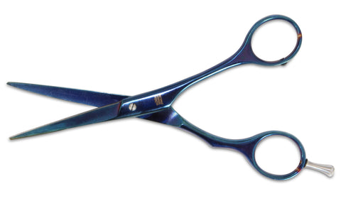 "Mars Professional Tempered Steel Scissors, Titanium Coated for Long Life Span, 6"" Length"