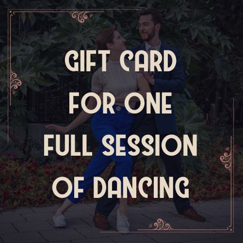 Gift Card for 1 session of 6 dance classes