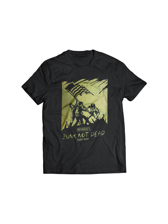 BUNKFACE: BUNK NOT DEAD (TOUR 2013) T-SHIRT