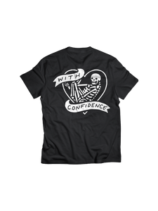 WITH CONFIDENCE: HEART T-SHIRT