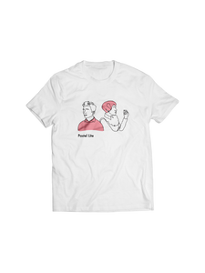 PASTEL LITE: ILLUSTRATION (WHITE) T-SHIRT