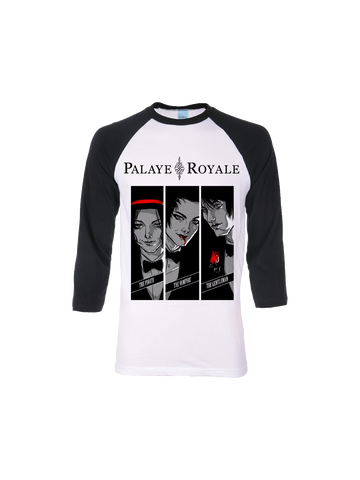 PALAYE ROYALE: PORTRAIT BASEBALL T-SHIRT
