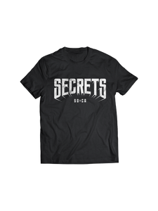 SECRETS: SAN DIEGO X CALIFORNIA LOGO T-SHIRT