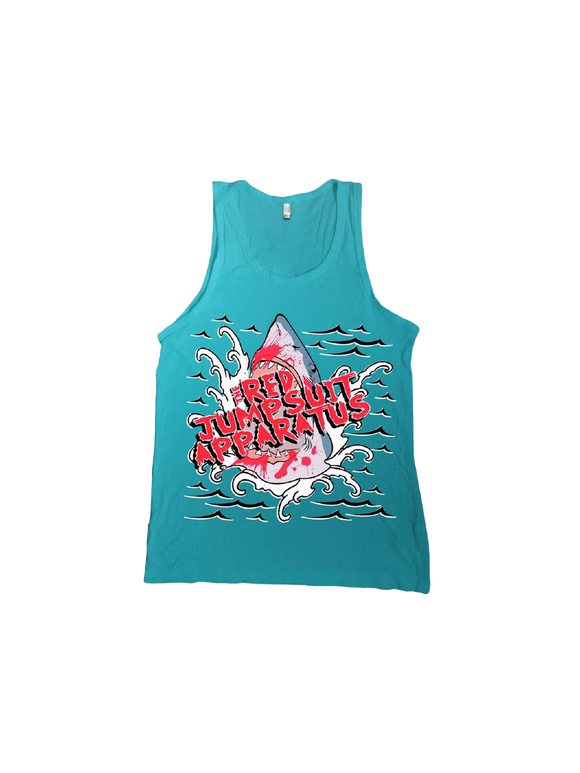 RED JUMPSUIT APPARATUS: SHARK ATTACK TANK TOP