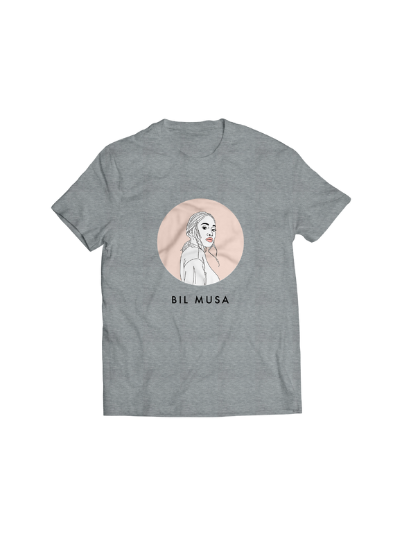 BIL MUSA: YOUNG ADULTS (GREY) T-SHIRT
