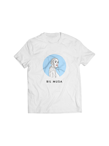 BIL MUSA: YOUNG ADULTS (WHITE) T-SHIRT