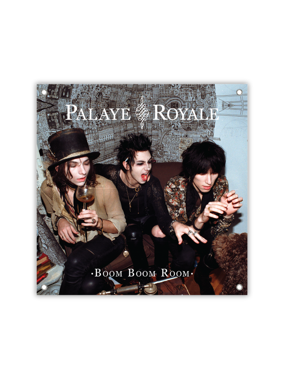 PALAYE ROYALE: BOOM BOOM ROOM WALL FLAG