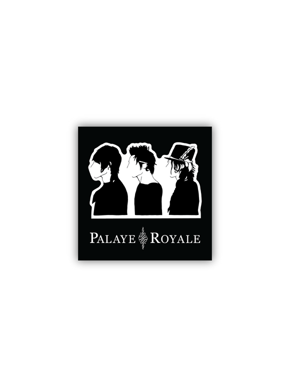 PALAYE ROYALE: SILHOUETTE STICKER
