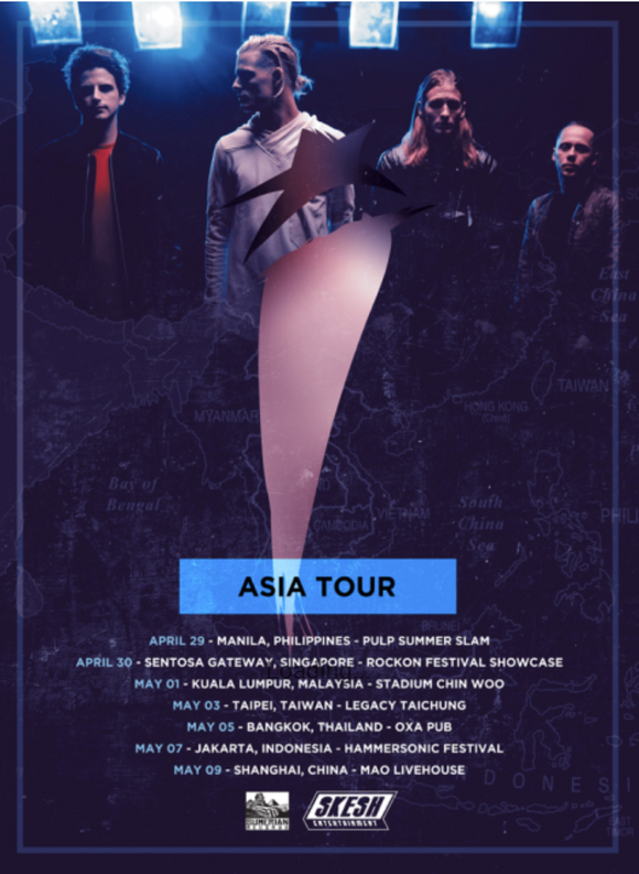 I SEE STARS: ASIA TOUR 2017  POSTER
