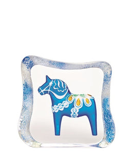 Dalecarlia Horse blue traditional