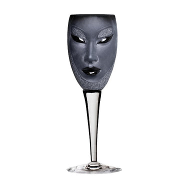 Electra Wine Glass Black