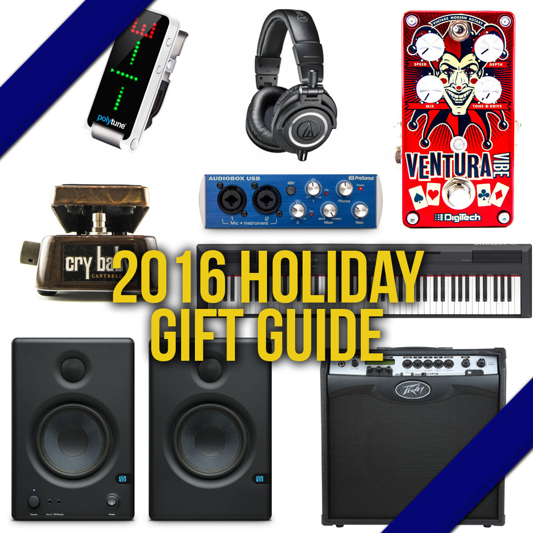 2016 Musicians Holiday Gift Guide