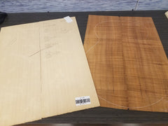 Bearclaw Sitka Spruce and Koa Raw Selections