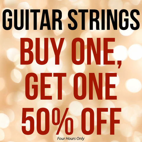 Guitar Strings Black Friday