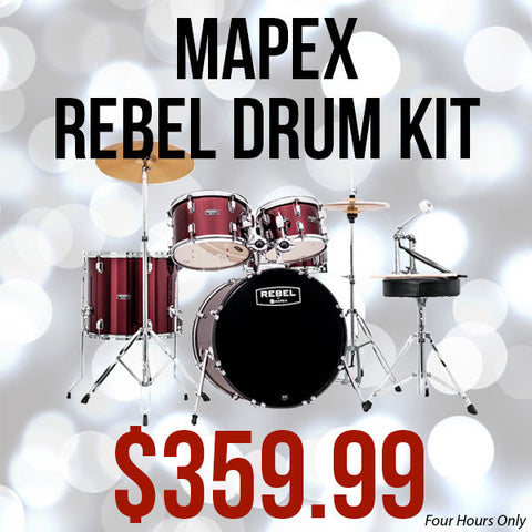Mapex Rebel Drum Kit Black Friday