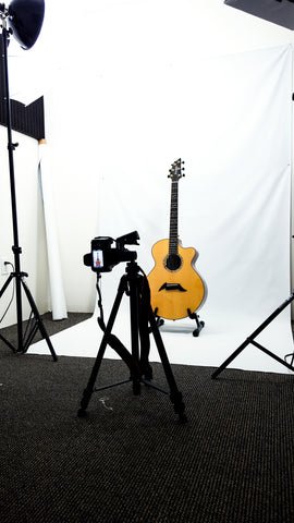 Breedlove Masterclass Auditorium Photo Shoot
