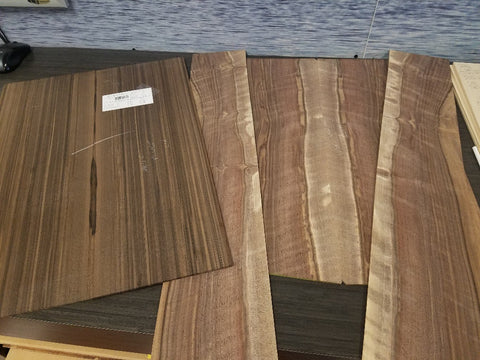 Raw Ocean Sinker Redwood and Walnut tonewood selection
