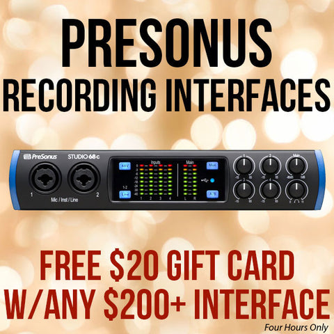 PreSonus Interface Black Friday