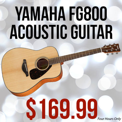 Yamaha FG800 Black Friday