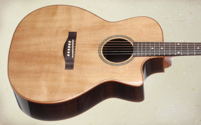 Teton STA150CENT Auditorium Acoustic Electric Guitar