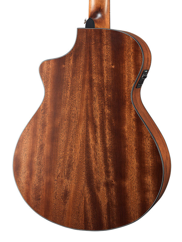 Breedlove Discovery Concert Satin Bourbon CE Nylon Acoustic Electric Guitar