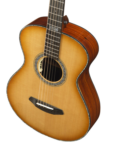 Breedlove Legacy Concertina Natural Shadow Sitka Spruce/Cocobolo Acoustic Electric Guitar - Includes Case