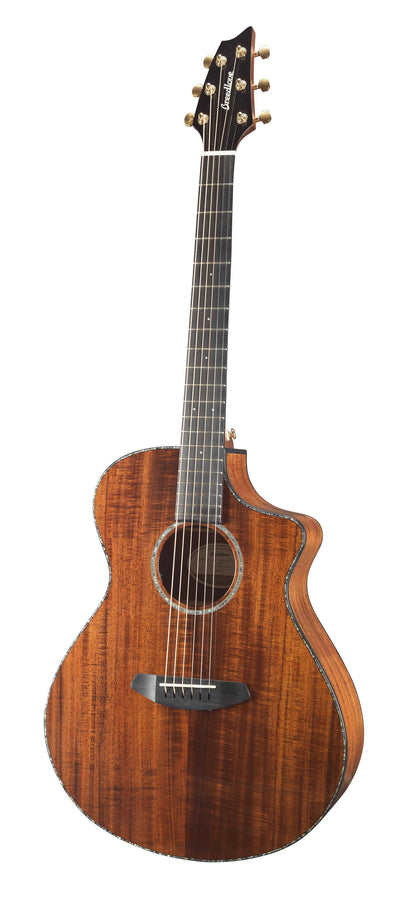 Breedlove Pursuit Exotic Concert CE Koa/Koa Acoustic Electric Guitar - Includes Gig Bag