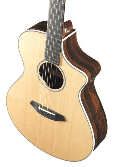 Breedlove Pursuit Exotic Concert CE Sitka Spruce/Ziricote Acoustic Electric Guitar - Includes Gig Bag
