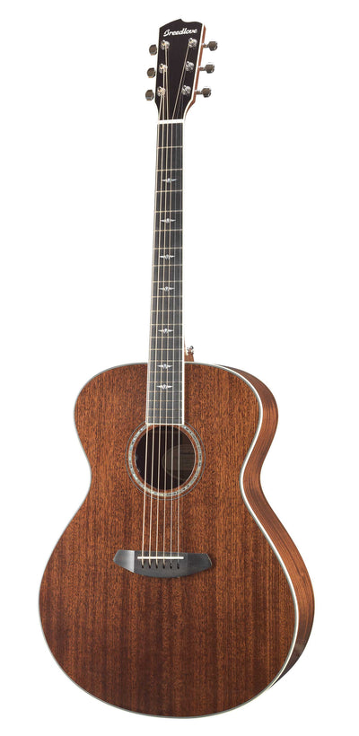 Breedlove Stage Concerto All Mahogany Acoustic Electric Guitar - Includes Gig Bag