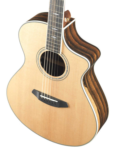 Breedlove Stage Exotic Concert CE Sitka Spruce/Ziricote Acoustic Electric Guitar - Includes Gig Bag