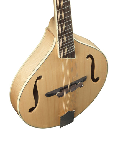 Breedlove Natural OF Crossover Stika Spruce/Maple Mandolin - Includes Gigbag
