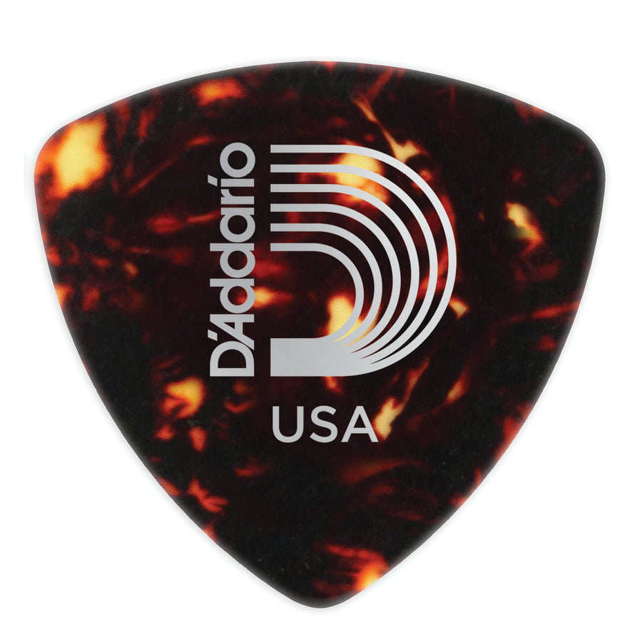 D'Addario Shell Wide Celluloid Picks 10 Pack