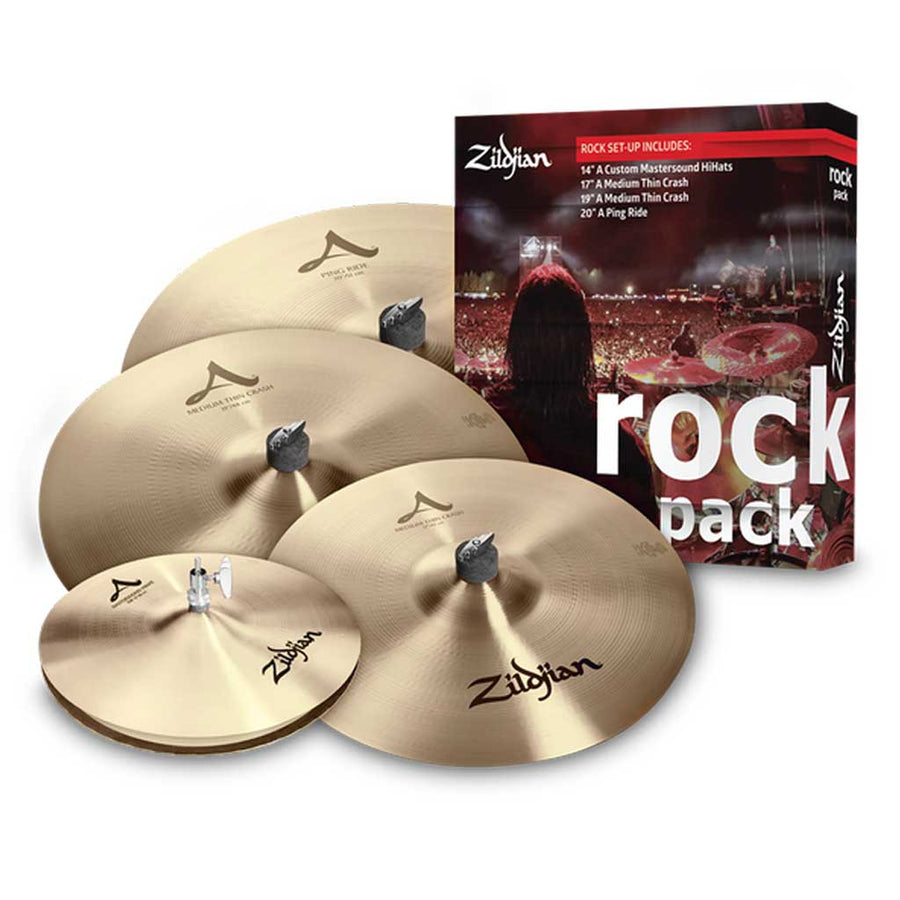 Zildjian A0801R A Series Rock Cymbal Pack