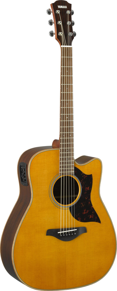 Yamaha A1R Vintage Natural Acoustic Electric Guitar