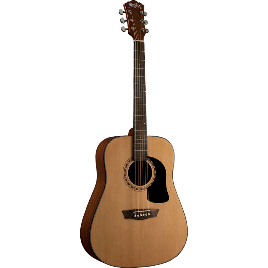 Washburn Apprentice Series AD5K Dreadnought Acoustic Guitar in Natural