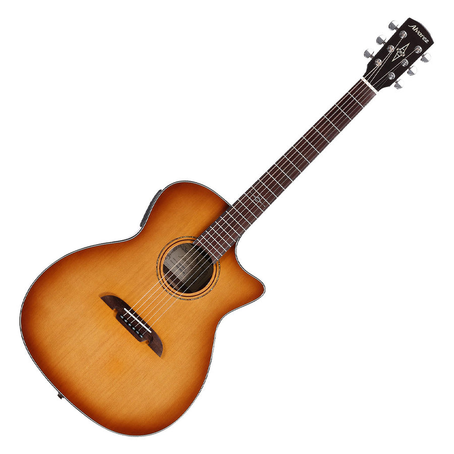 Alvarez AGE95CE Artist Elite Series Grad Auditorium Acoustic Electric Guitar in Shadowburst Gloss