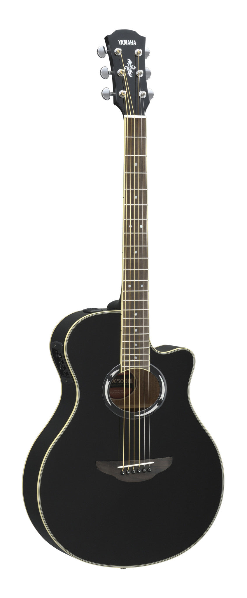 Yamaha APX500III Thinline Acoustic Electric Guitar Bundle