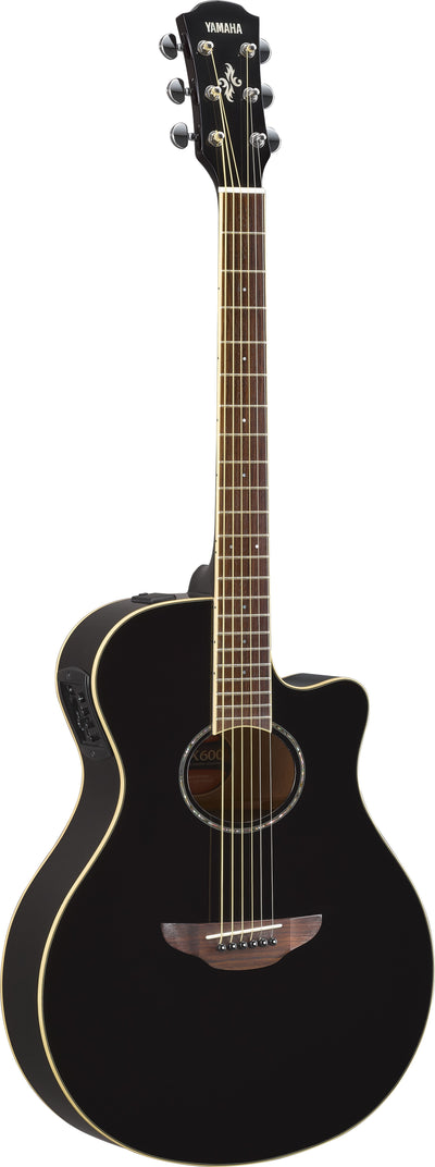 Yamaha APX600 Black Thinline Acoustic Electric Guitar