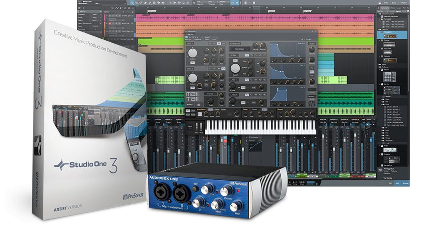 PreSonus AudioBox 2x2 USB Recording Interface